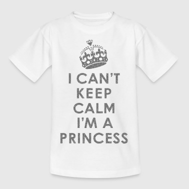 Can't Keep Calm /Princess - Kids' T-Shirt