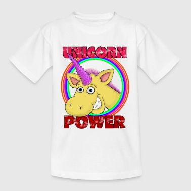 Unicorn Power - Børne-T-shirt