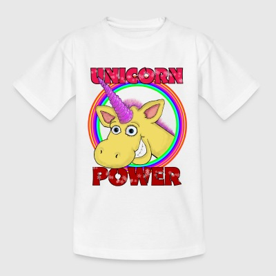 Unicorn-Power - Kinder T-Shirt