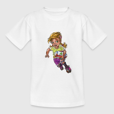 Little rugby player - Kids' T-Shirt