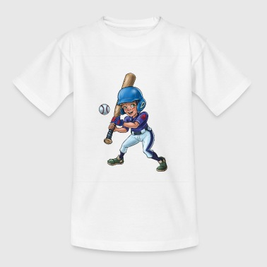Little baseball player - Kids' T-Shirt