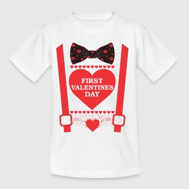 ++ FIRST VALENTINES DAY ++ - Kinder T-Shirt