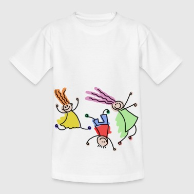Playing children - Kinder T-Shirt