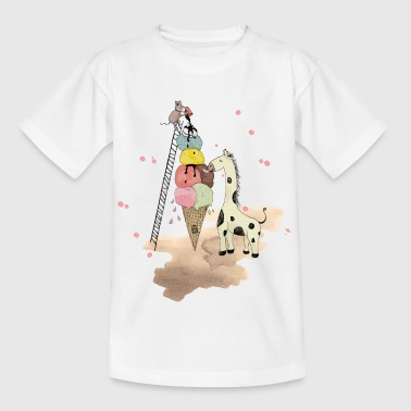 Wildlife Icecream - Kids' T-Shirt