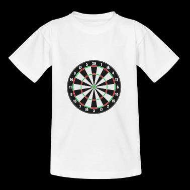 dartboard - Kids' T-Shirt