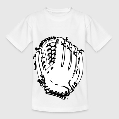 honkbalsporten helm pitcher softball catcher24 - Kinderen T-shirt