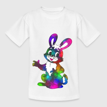 Bunter Osterhase super sweet - Kinder T-Shirt