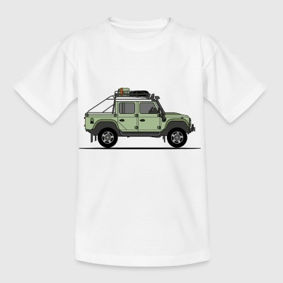 Defender 110 Offroad Pick Up - Kids' T-Shirt