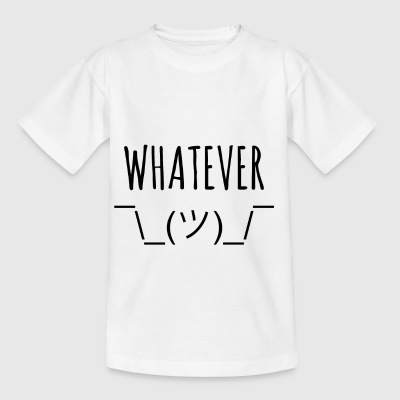 whatever - Kinder T-Shirt