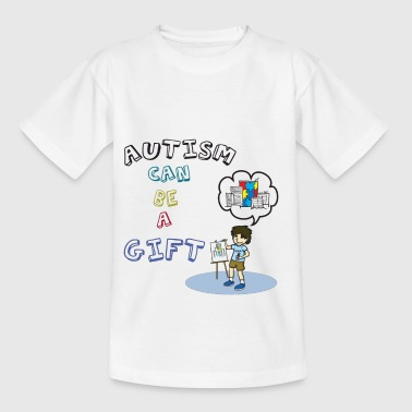 Autism: Autism can be a gift - Kids' T-Shirt