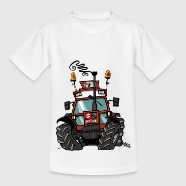 0264 brun traktor 90 90 - T-skjorte for barn