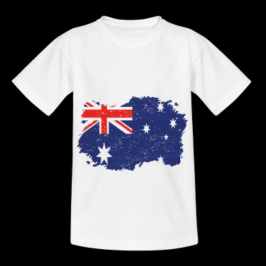 Roots Roots Flag Homeland Country Australia png - Kids' T-Shirt
