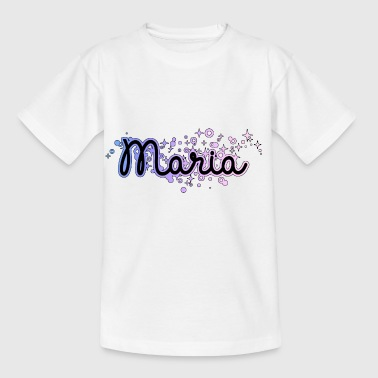 Maria Name Vorname - Kinder T-Shirt