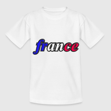 france - T-shirt Enfant