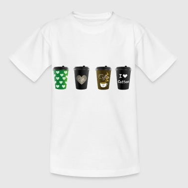 Coffee2Go Becher - Kinder T-Shirt