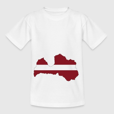 Lettland - Latvia - Land - Kinder T-Shirt