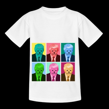 Presidente Pop Art Trump Gift Colorful - Camiseta niño