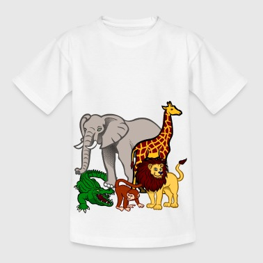 faune africaine dans la jungle - T-shirt Enfant