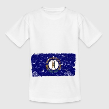 Kentucky Vintage Flagge - Kinder T-Shirt
