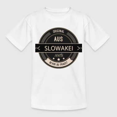 Original aus Slowakei 100% - Kinder T-Shirt