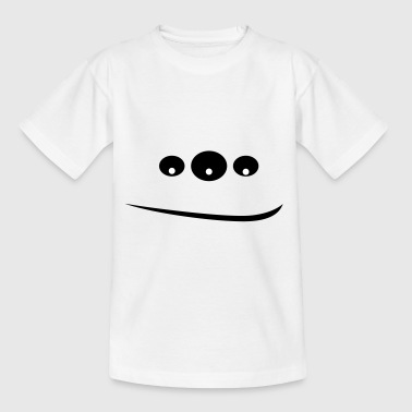 Monster in 3 ogen - Kinderen T-shirt