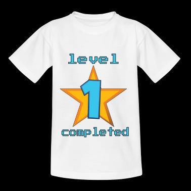 1st level finished - surprise for the baby's birthday - Kids' T-Shirt