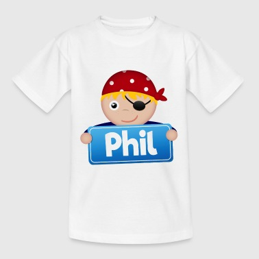 Petit Pirate Phil - T-shirt Enfant