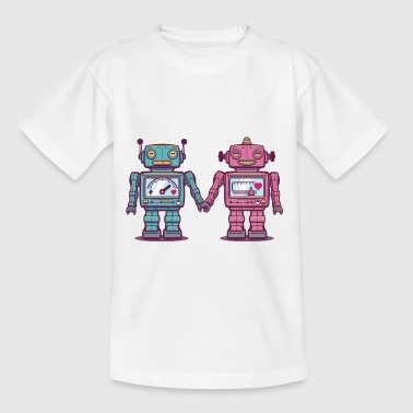 Loving Robots - Kids' T-Shirt