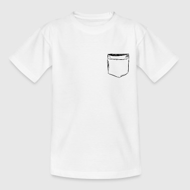 Chest bag Comic Draw - Kids' T-Shirt