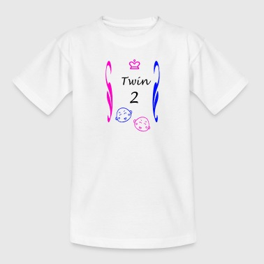 Twins Boy and Girl - Kids' T-Shirt