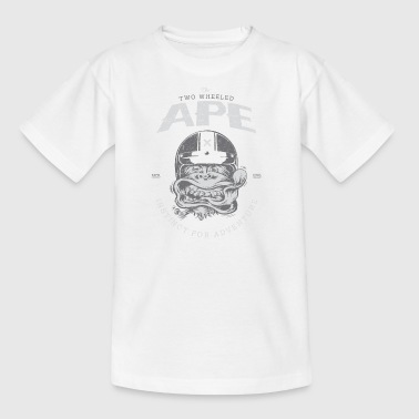 To hjul Ape Windy Biker T-shirt - Børne-T-shirt