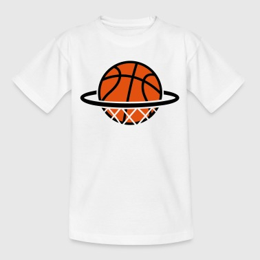 Basketball Basket   - Kids' T-Shirt