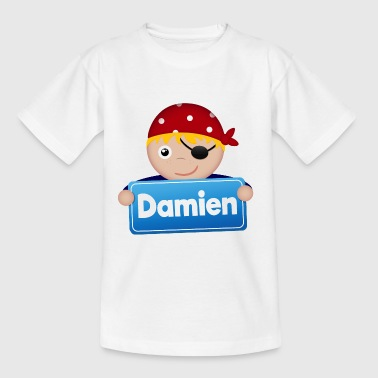 Petit Pirate Damien - T-shirt Enfant