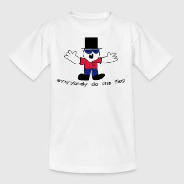everybody does the flop dude - Kids' T-Shirt