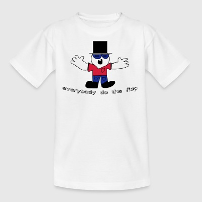 everybody do the flop dude - Kinder T-Shirt