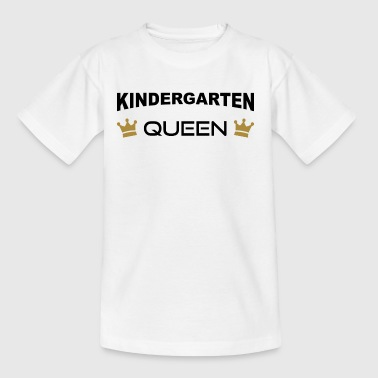 Kindergarten Queen mit Krone - Kinder T-Shirt
