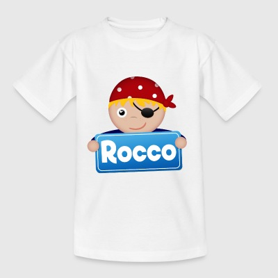 Lite Pirate Rocco - T-skjorte for barn