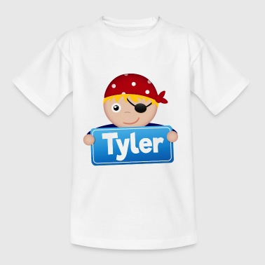 Little pirate Tyler - Kids' T-Shirt
