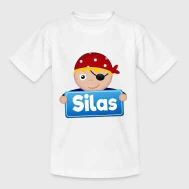 Little Pirate Silas - Kids' T-Shirt