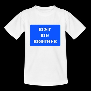 Meilleur Big Brother Blue - T-shirt Enfant
