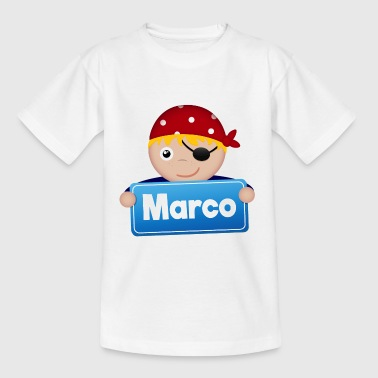 Little Pirate Marco - T-shirt barn