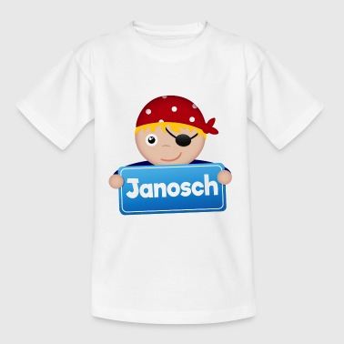 Little Pirate Janosch - Kids' T-Shirt