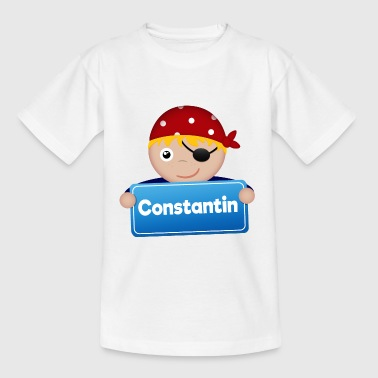 Little Pirate Constantin - Kids' T-Shirt