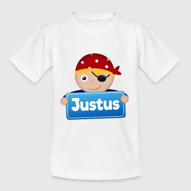 Petit Pirate Justus - T-shirt Enfant