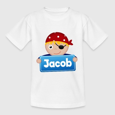 Little Pirate Jacob - T-shirt barn