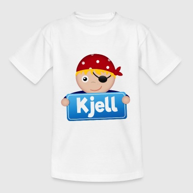 Lite Pirate Kjell - T-skjorte for barn