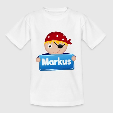 Little Pirate Markus - Kids' T-Shirt