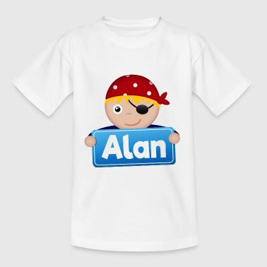 Little Pirate Alan - Kids' T-Shirt