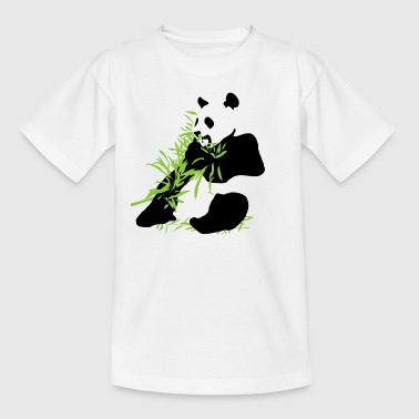 bambus Panda - T-skjorte for barn
