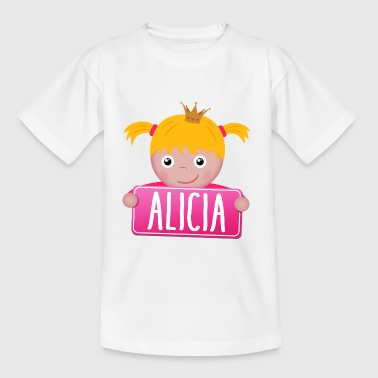 Little Princess Alicia - T-shirt barn